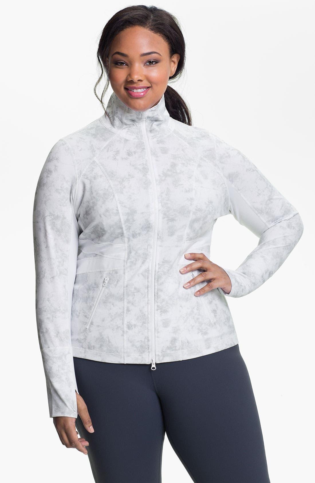 Alternate Image 1 Selected - Zella 'Karin' Fitted Jacket (Plus)