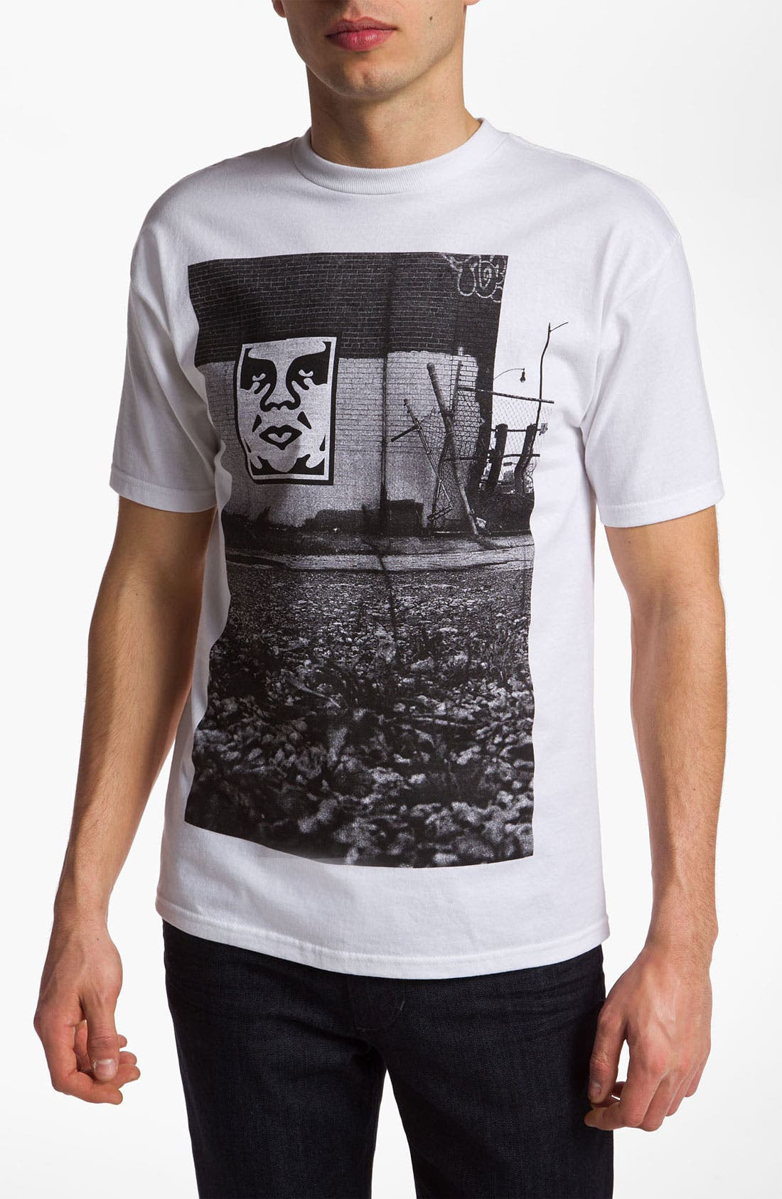 Alternate Image 1 Selected - Obey 'Pittsburgh Photo' Graphic T-Shirt