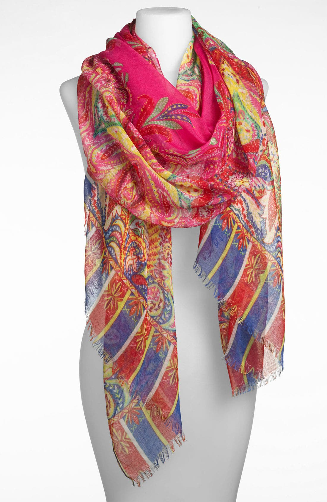 Alternate Image 1 Selected - Tasha 'Polished Paisley' Scarf