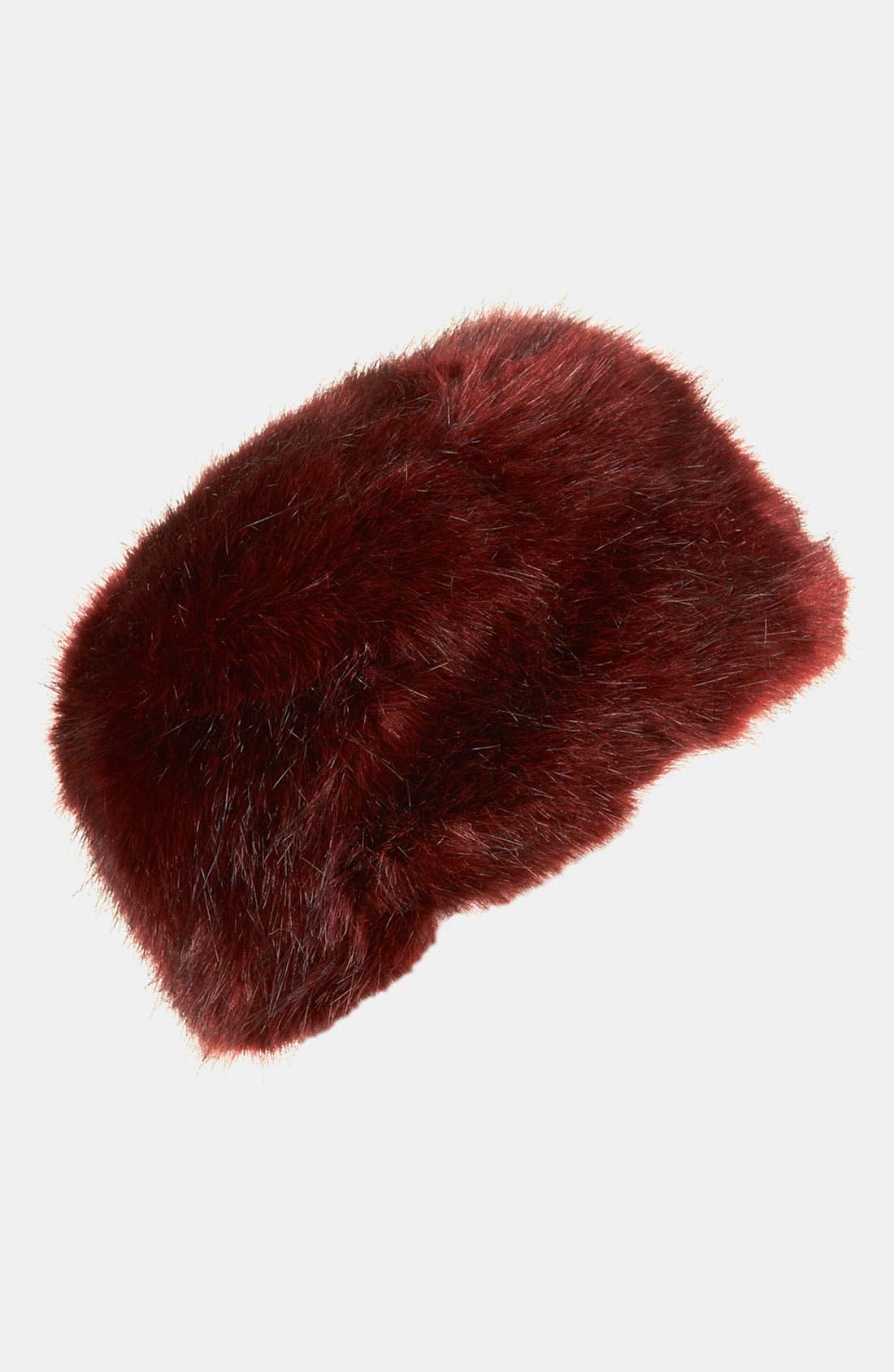 Main Image - Topshop Faux Fur Hat