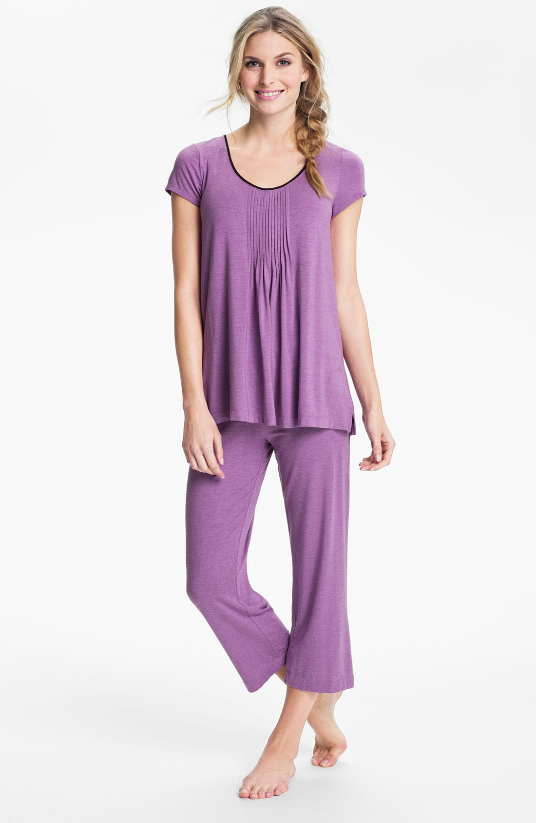 Alternate Image 4  - DKNY '7 Easy Pieces' Capri Pants