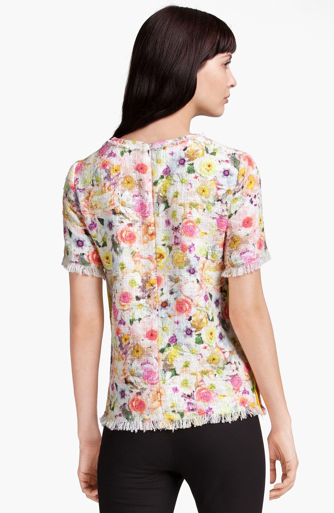Alternate Image 2  - MSGM Floral Print Top