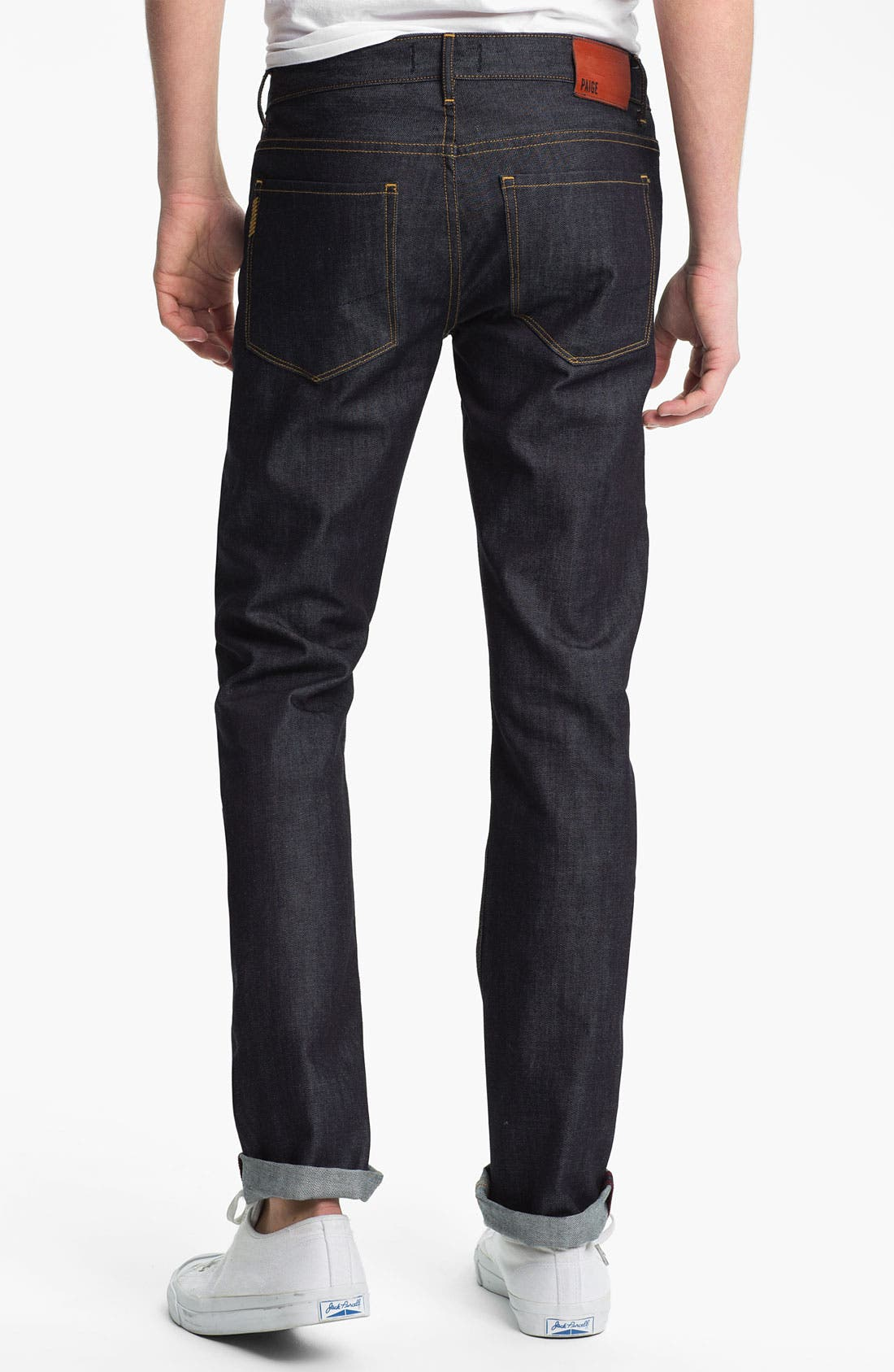 Alternate Image 1 Selected - PAIGE 'Federal' Slim Fit Jeans (Uncharted)
