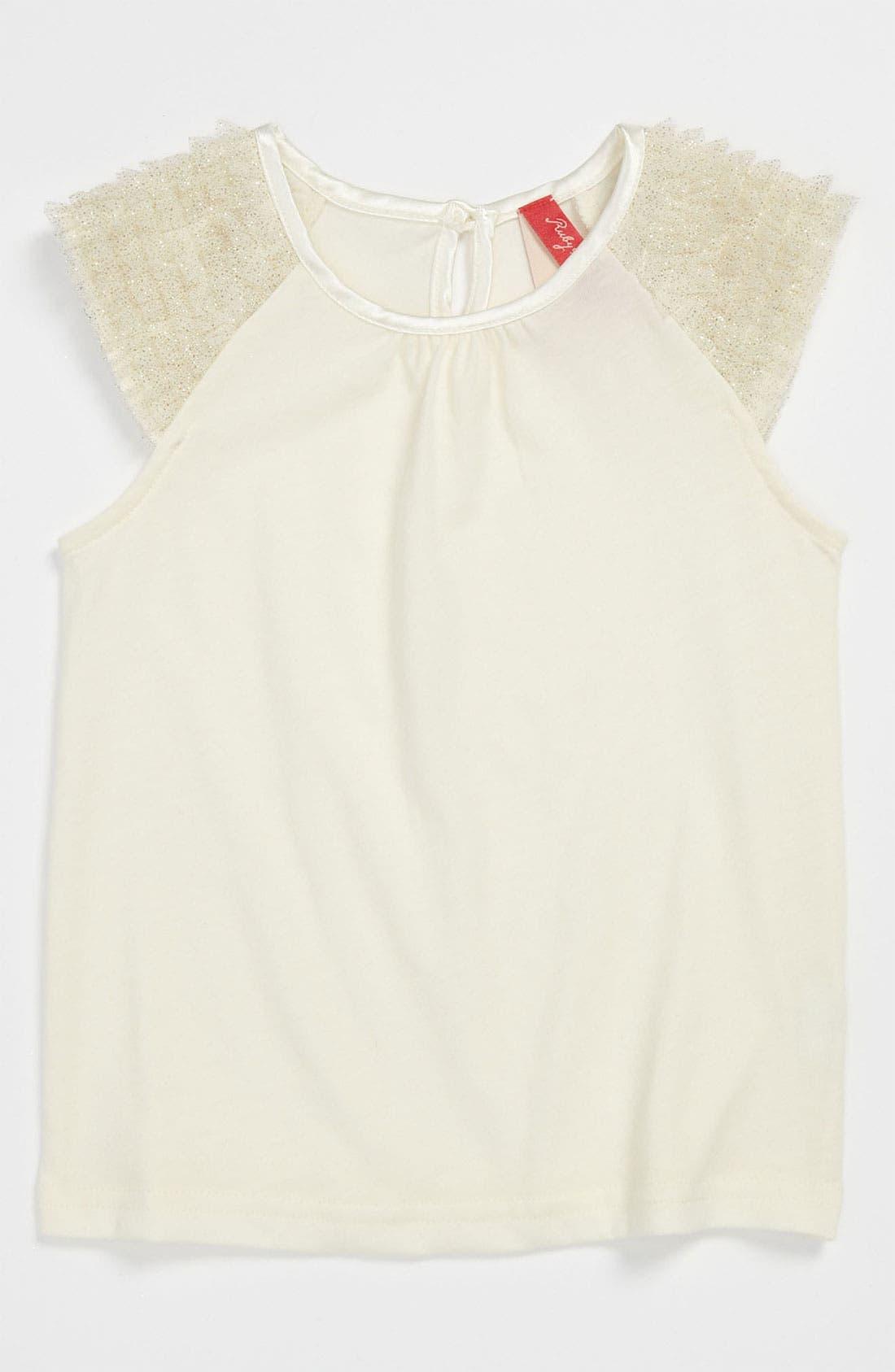 Main Image - Ruby & Bloom 'Mariah' Knit Top (Toddler)