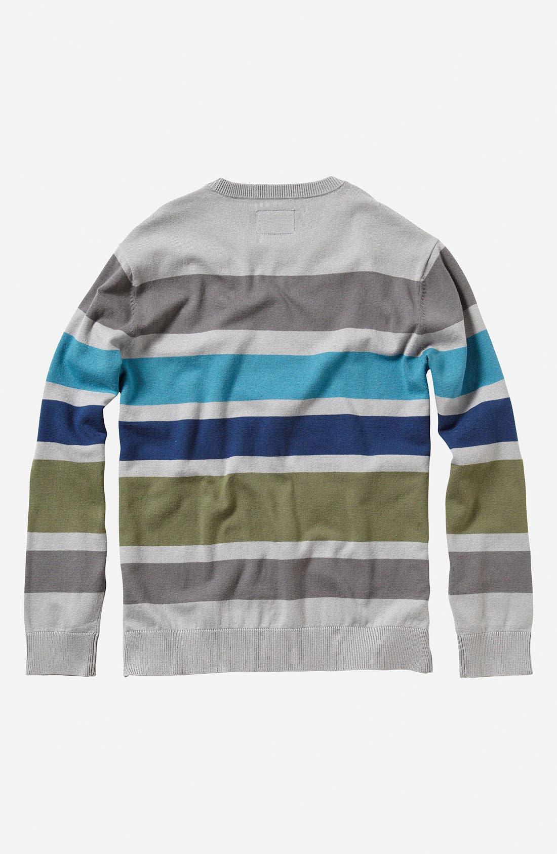 Alternate Image 2  - Quiksilver 'Casting' Sweater (Little Boys)