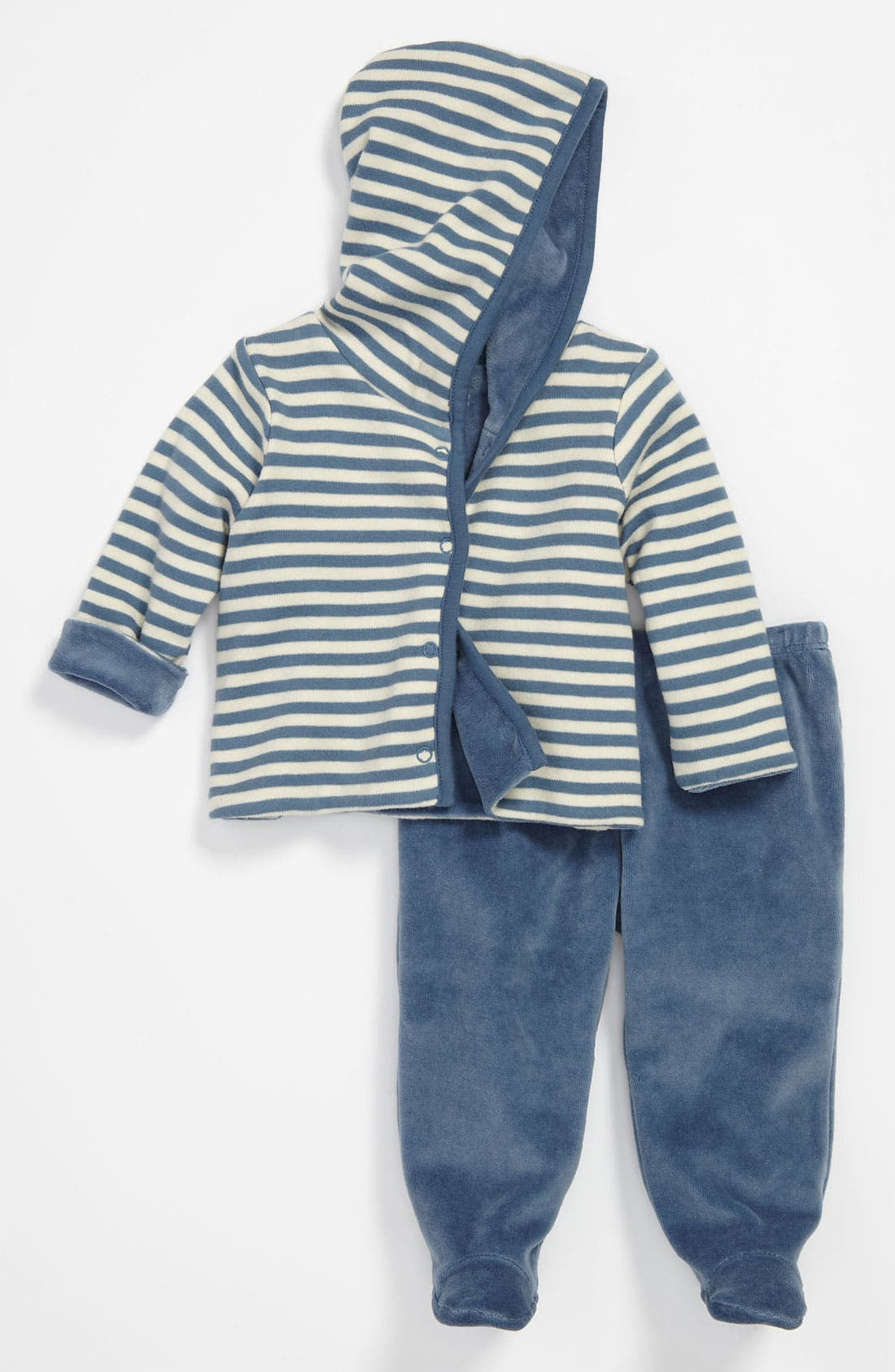 Alternate Image 1 Selected - Nordstrom Baby Reversible Hoodie & Pants (Infant)