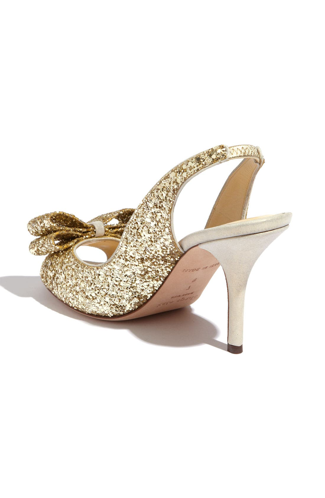 Alternate Image 2  - kate spade new york 'charm' slingback pump