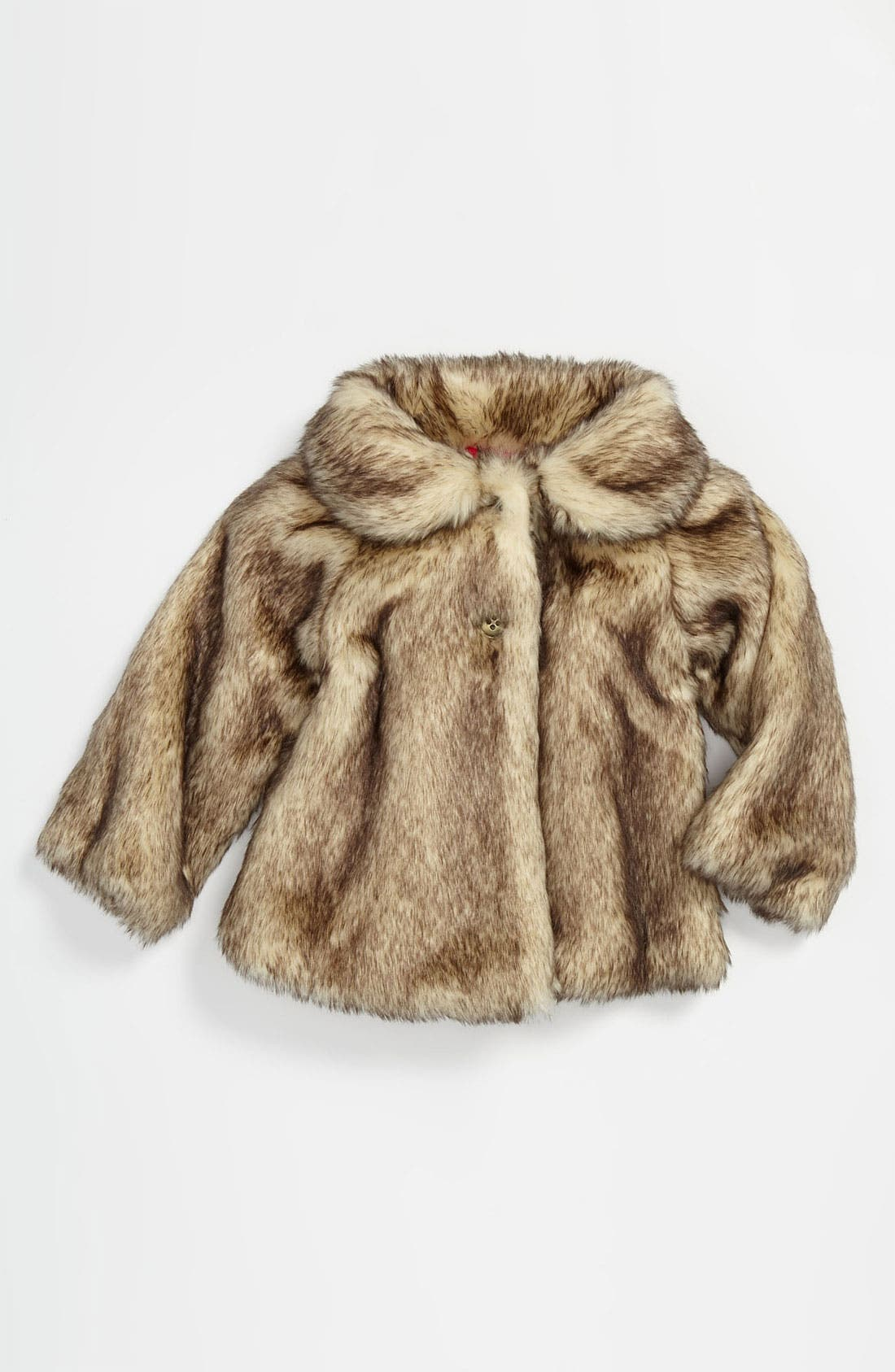 Main Image - Ruby & Bloom 'Mia' Faux Fur Coat (Little Girls)