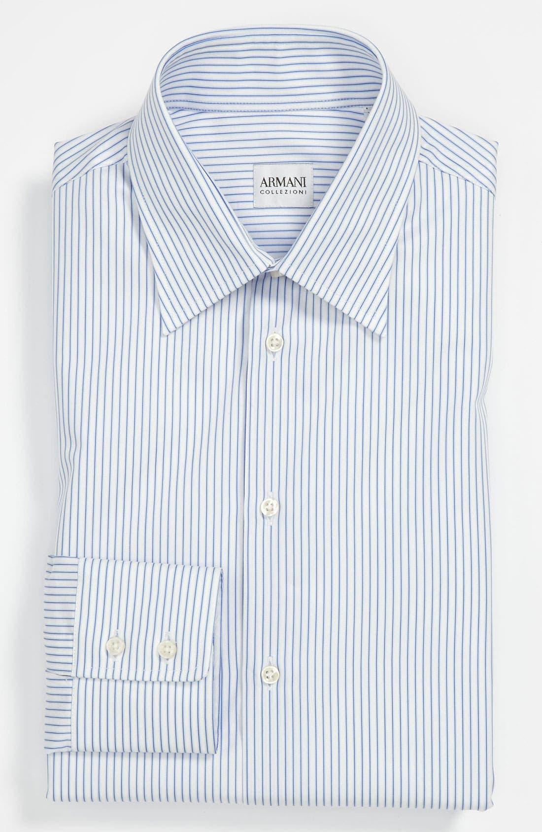 Alternate Image 1 Selected - Armani Collezioni Modern Fit Dress Shirt