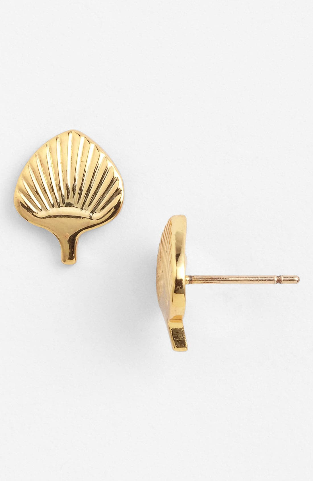 'ikeda' stud earrings,                         Main,                         color, Gold