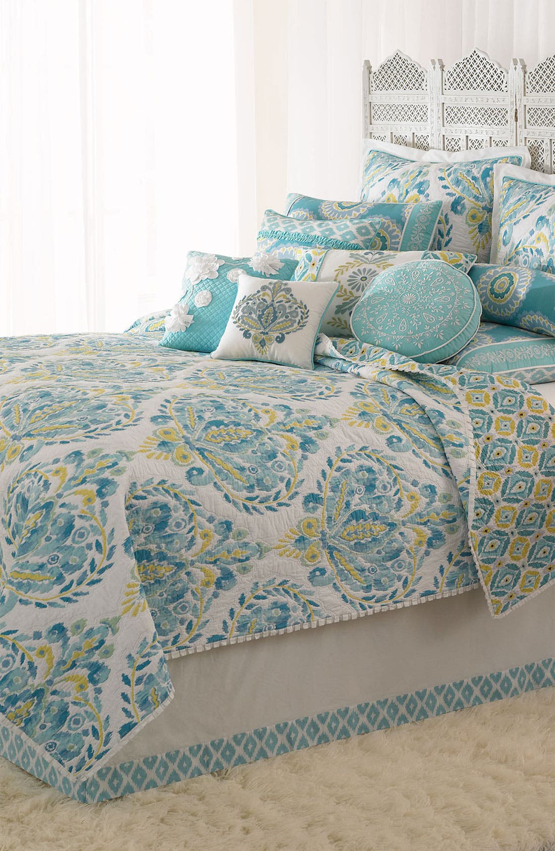 Alternate Image 2  - Dena Home 'Blue Dove' Bed Skirt