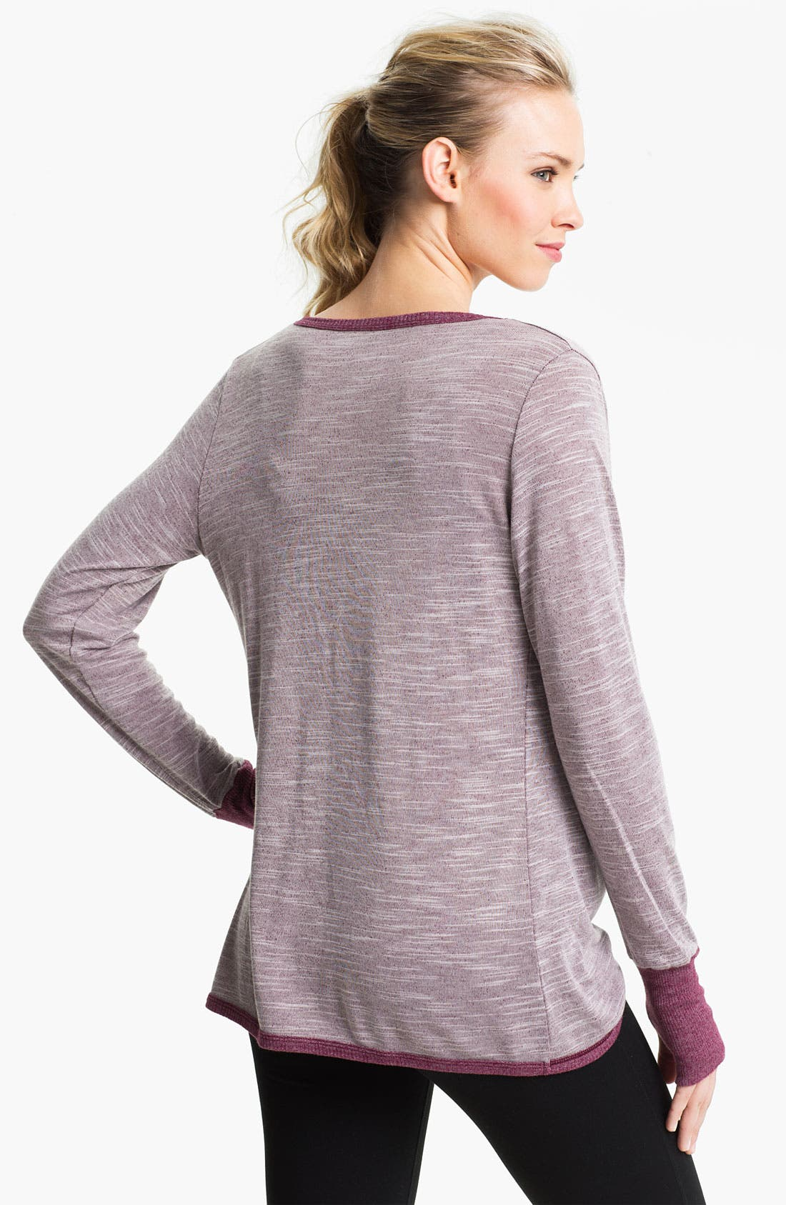 Alternate Image 2  - Pure Karma 'Dinah' Twist Pullover Top