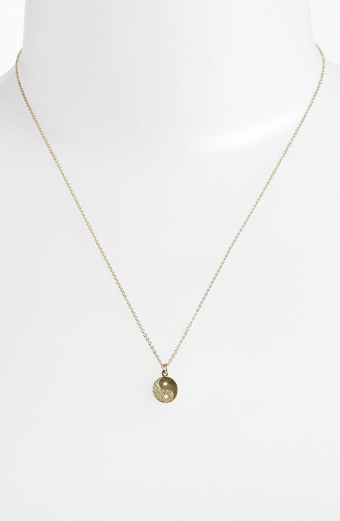 Alternate Image 2  - Dogeared 'Reminder - Balance' Pendant Necklace