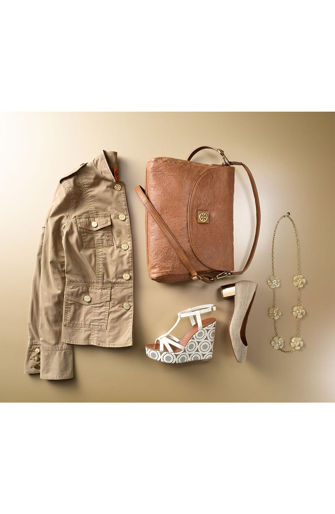 Main Image - Tory Burch Jacket & Accessories