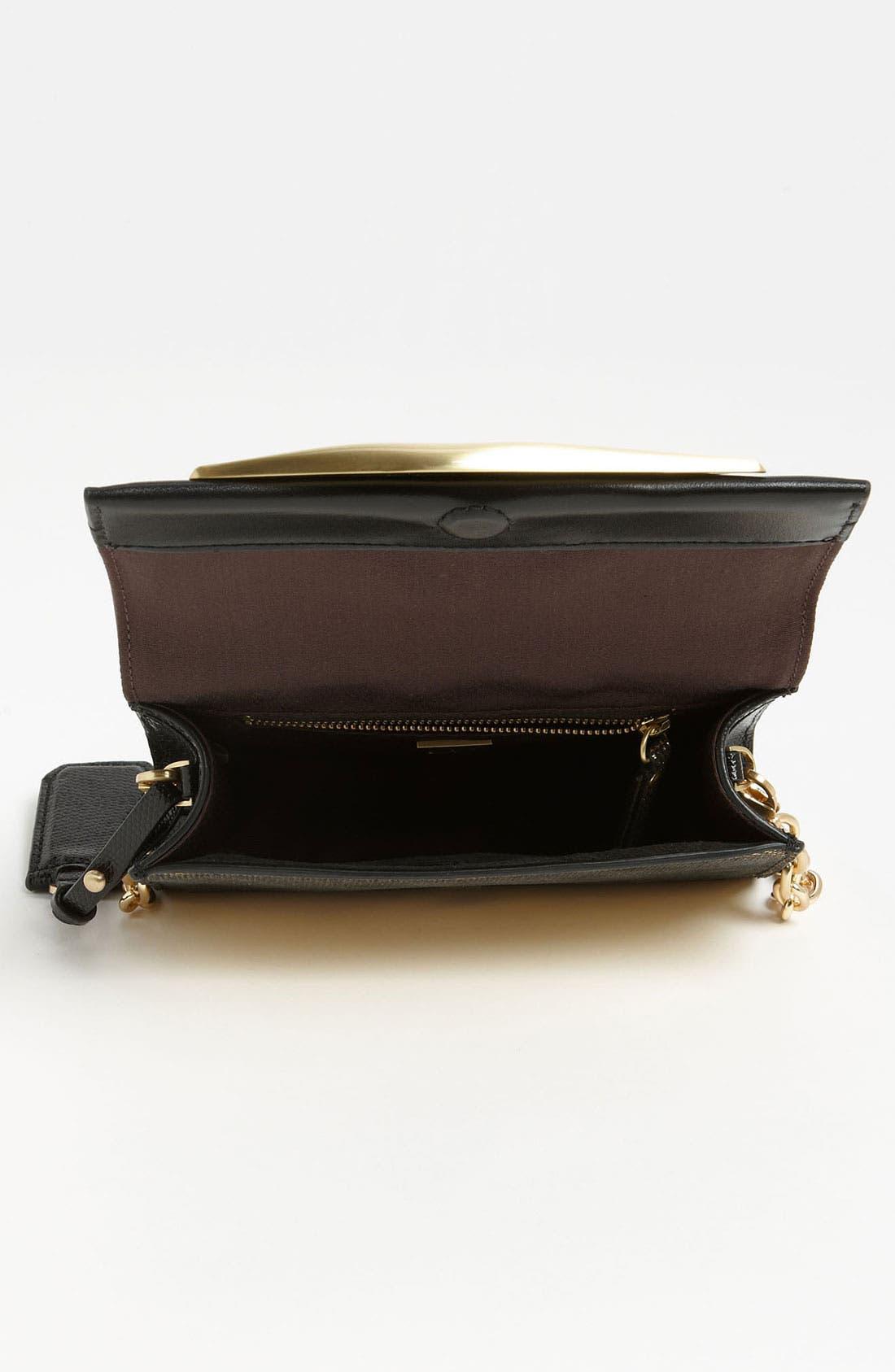Alternate Image 3  - Diane von Furstenberg 'Lips - Mini' Metallic Leather Clutch