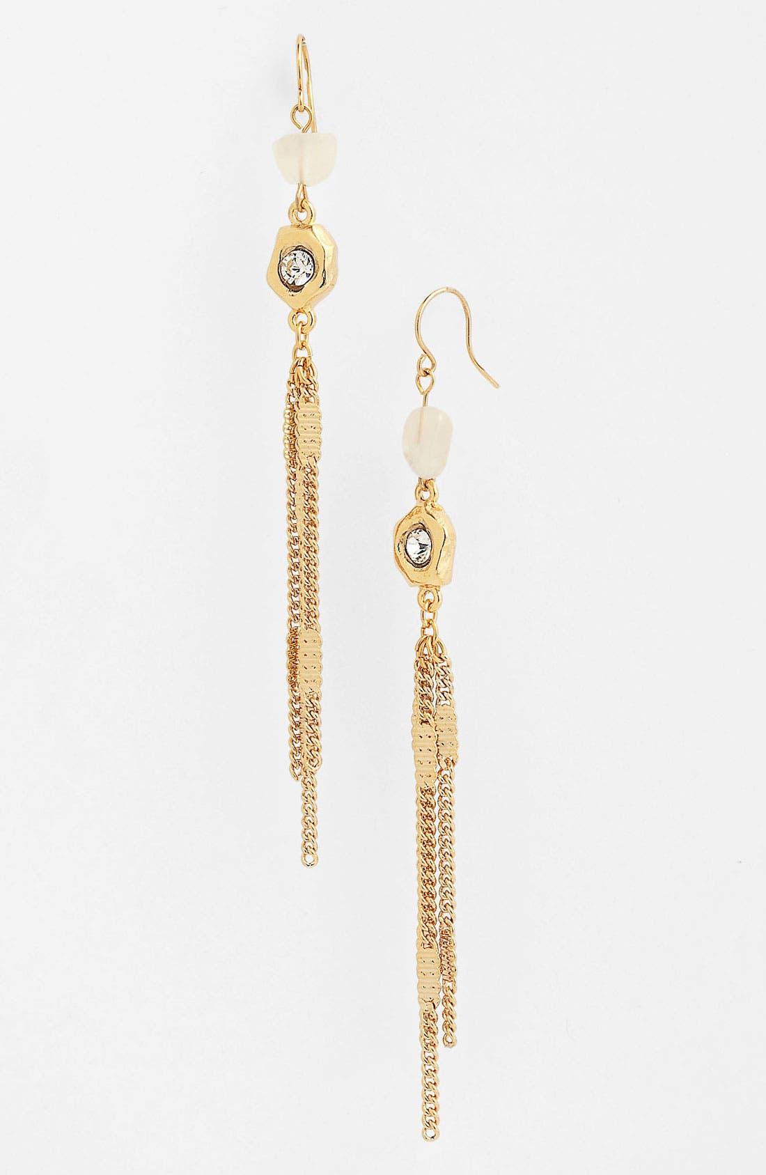 Alternate Image 1 Selected - Nordstrom 'Sand Dollar' Tassel Earrings
