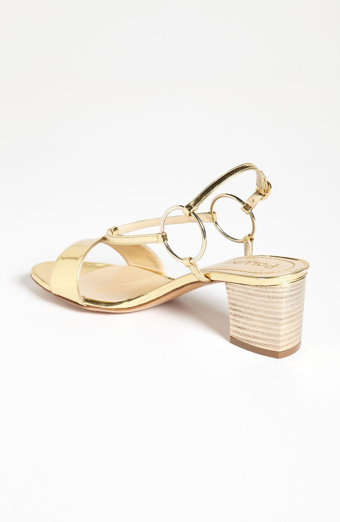 Alternate Image 2  - Pollini Metallic Mid Sandal