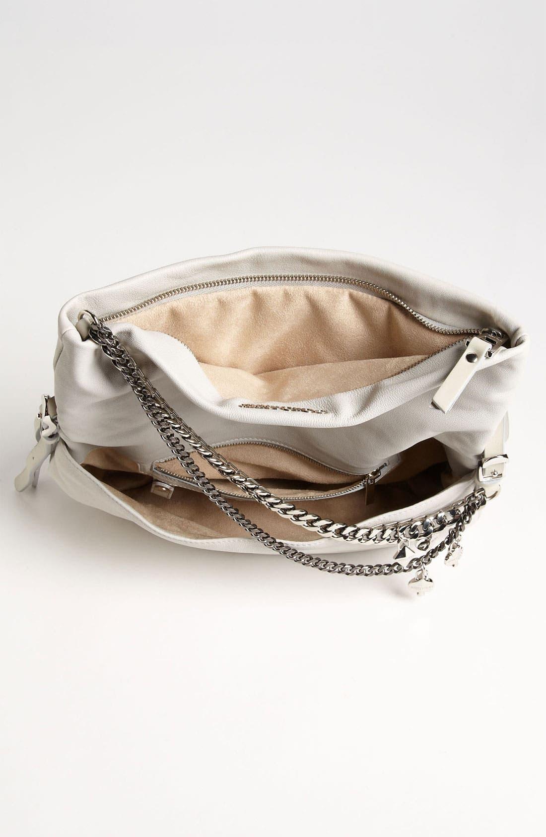 Alternate Image 3  - Jimmy Choo 'Biker - Small' Leather Crossbody Bag