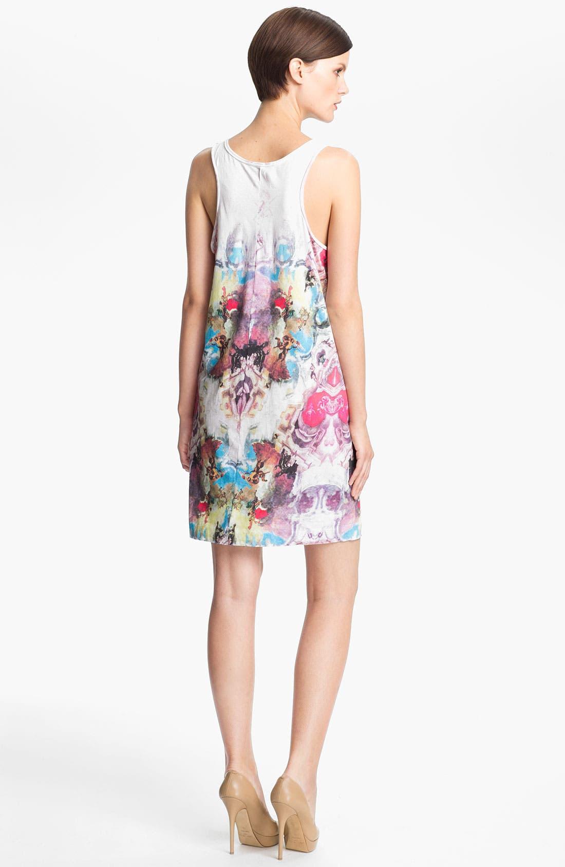 Alternate Image 2  - Carven Print Jersey Tank Dress