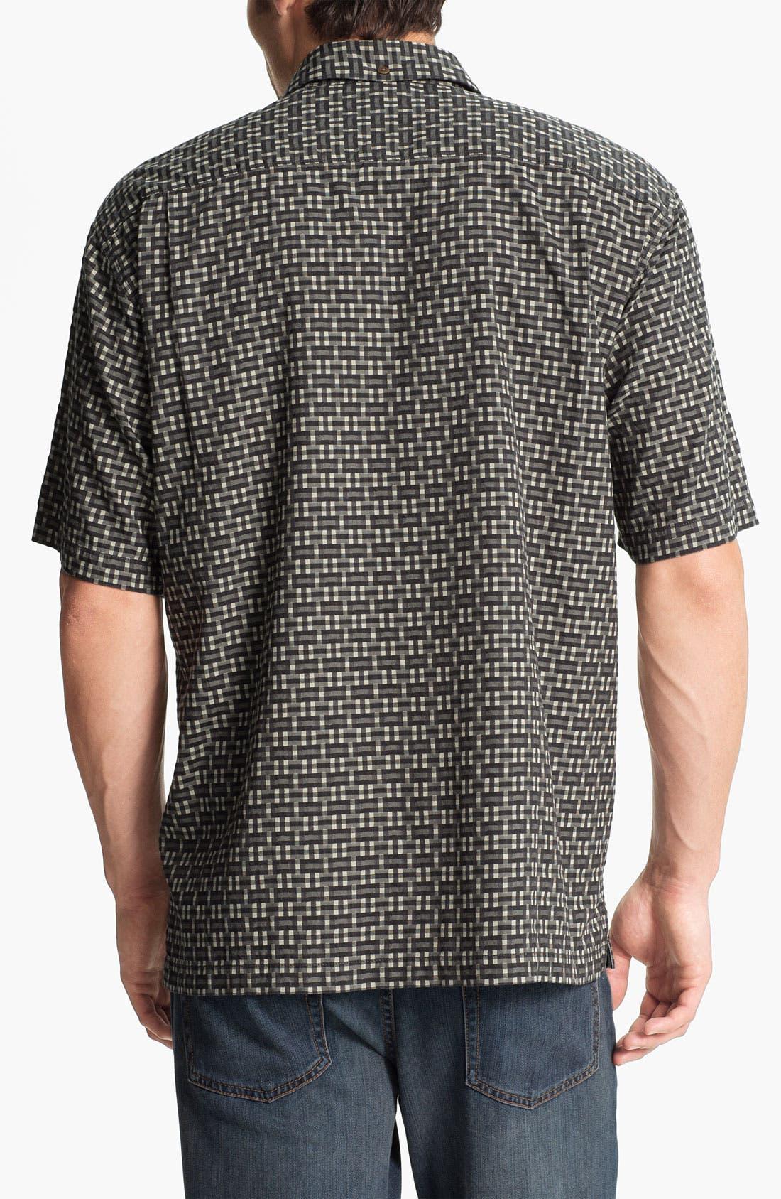 Alternate Image 2  - Tommy Bahama 'Caracas Check' Silk & Cotton Campshirt