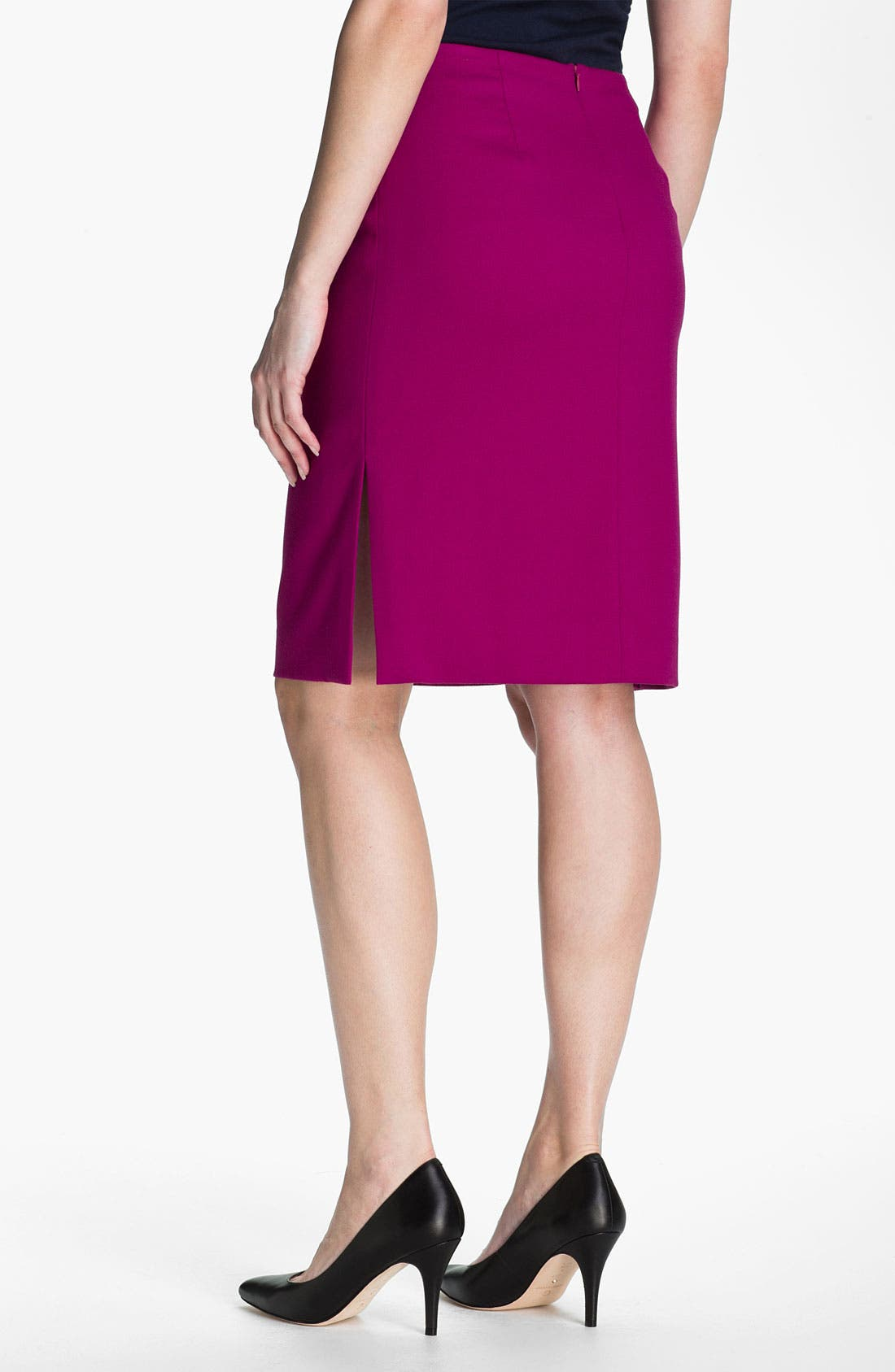 Alternate Image 2  - Anne Klein Crepe Pencil Skirt