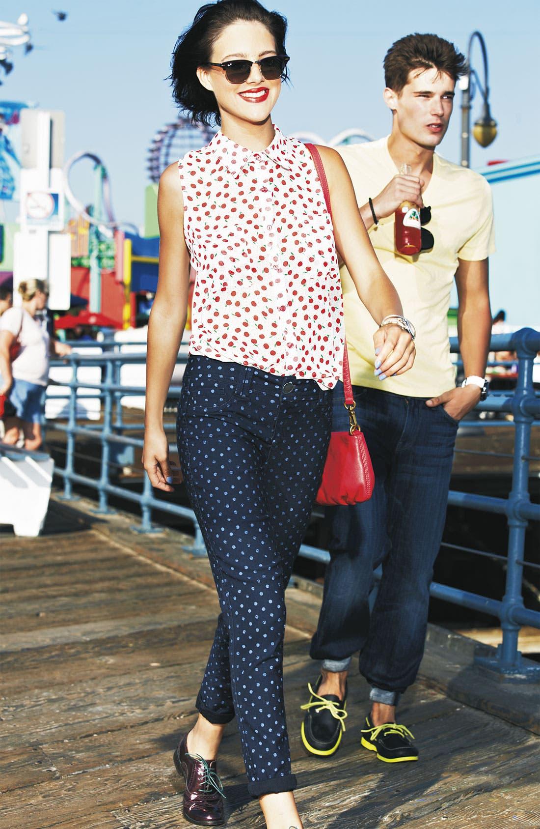 Main Image - MOD.lusive Blouse & Wit & Wisdom Jeans