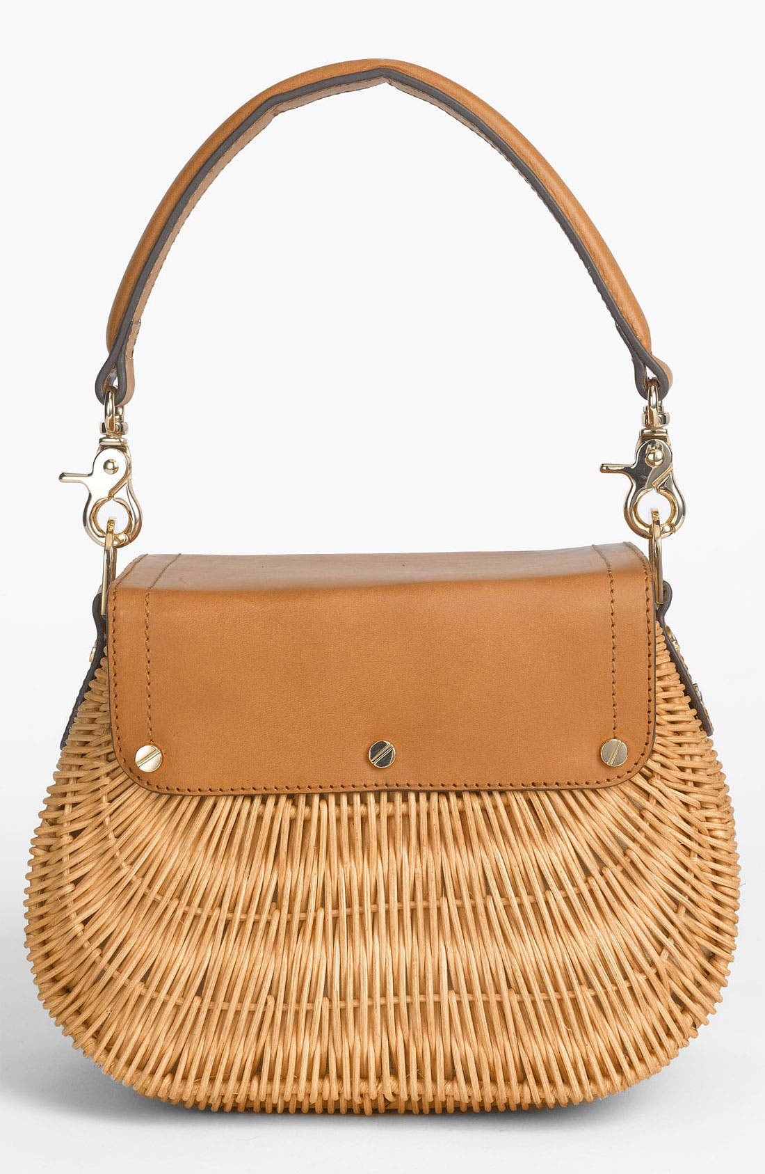 Alternate Image 4  - Tory Burch 'Lac' Rattan Handbag
