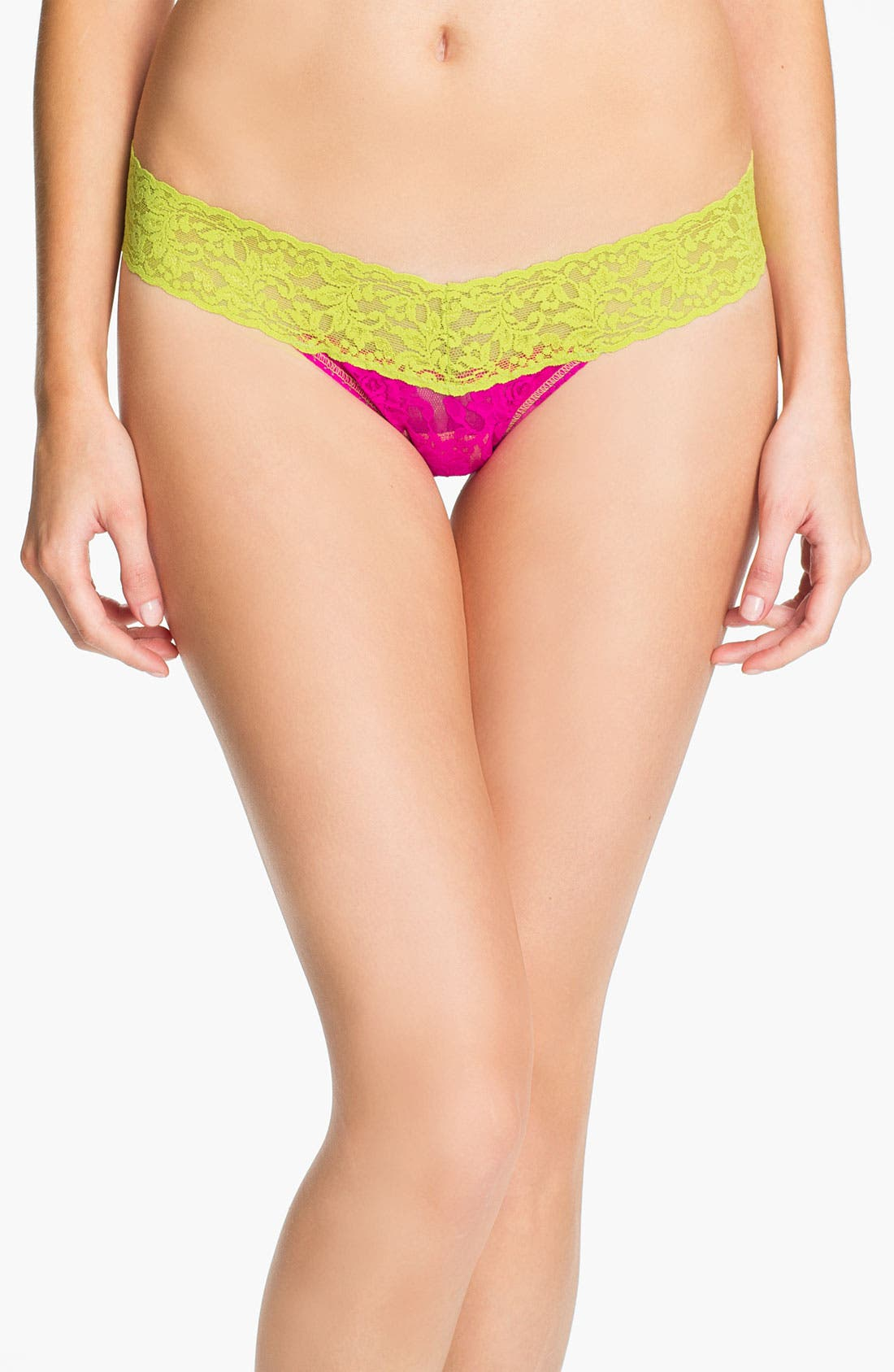 Alternate Image 1 Selected - Hanky Panky 'Colorplay' Low Rise Thong