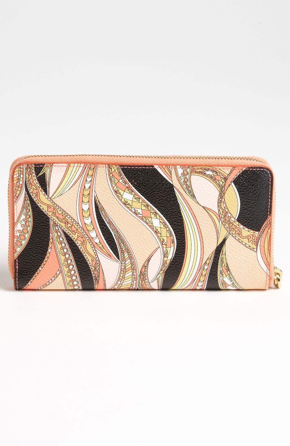 Alternate Image 4  - Emilio Pucci Zip Around Wallet