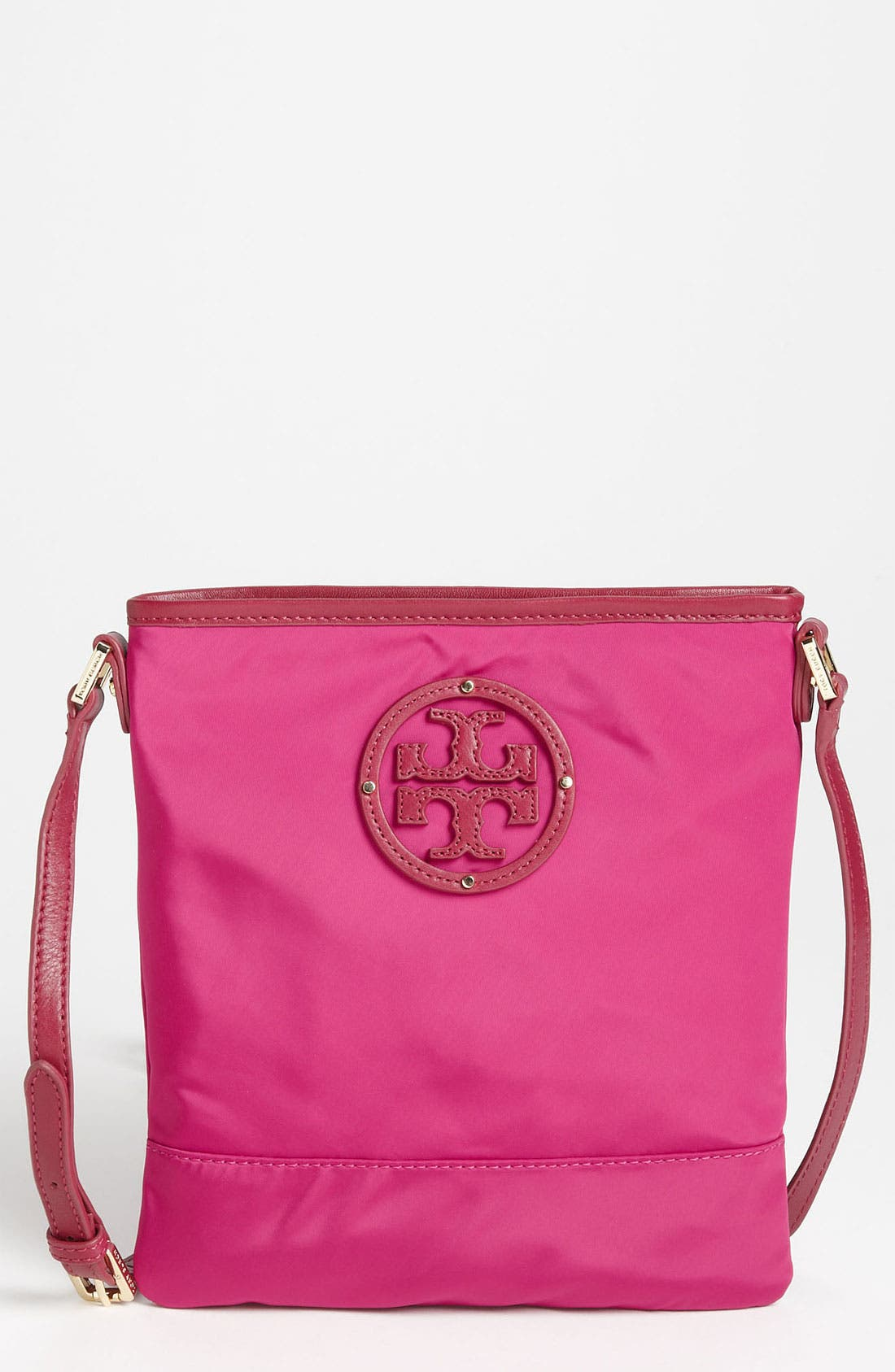 Alternate Image 1 Selected - Tory Burch Stacked Logo Crossbody Bag
