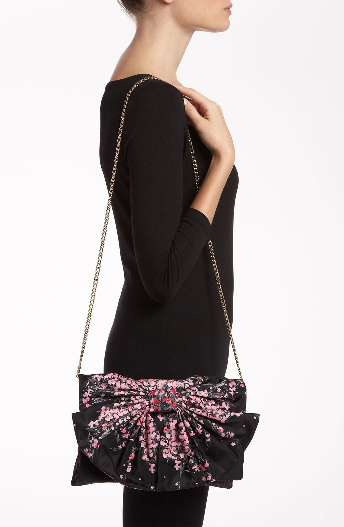 Alternate Image 2  - RED Valentino 'Lily of the Valley' Bow Clutch