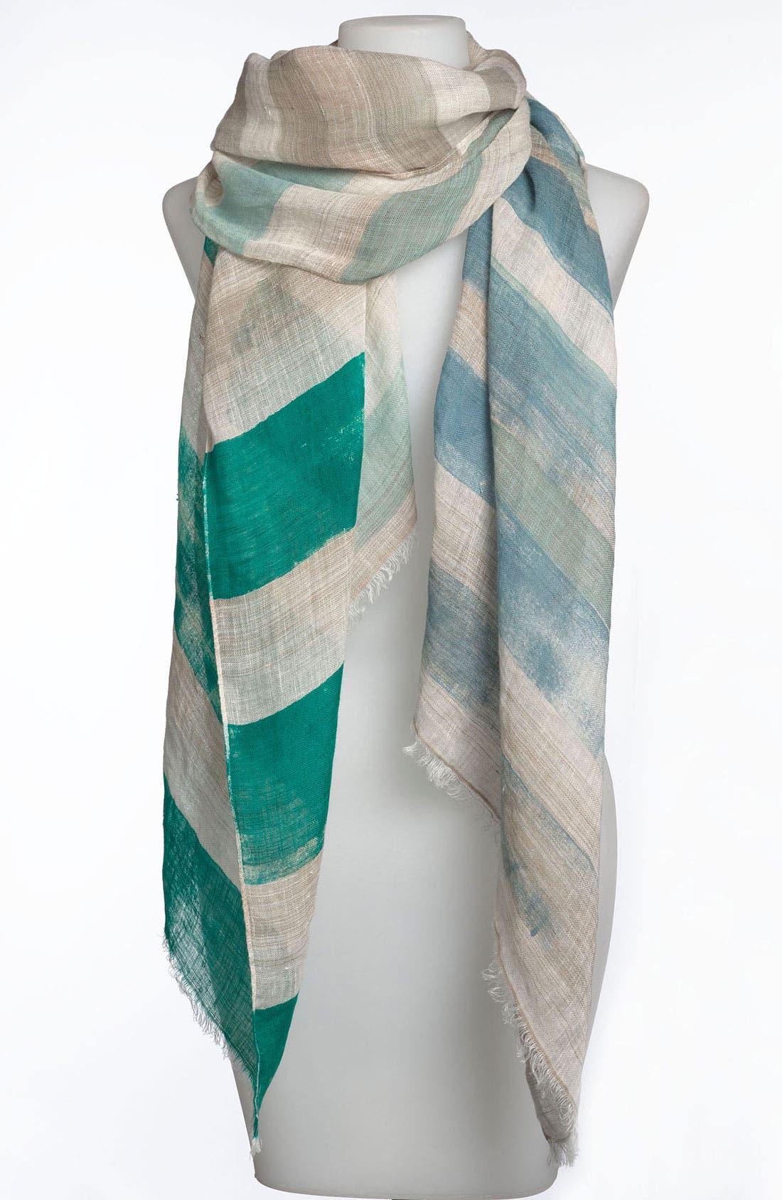 Alternate Image 1 Selected - Sonia Rykiel Multicolor Stripe Woven Stole