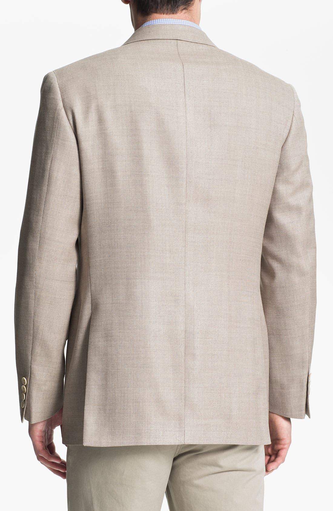 Alternate Image 2  - Joseph Abboud Silk Blend Sportcoat