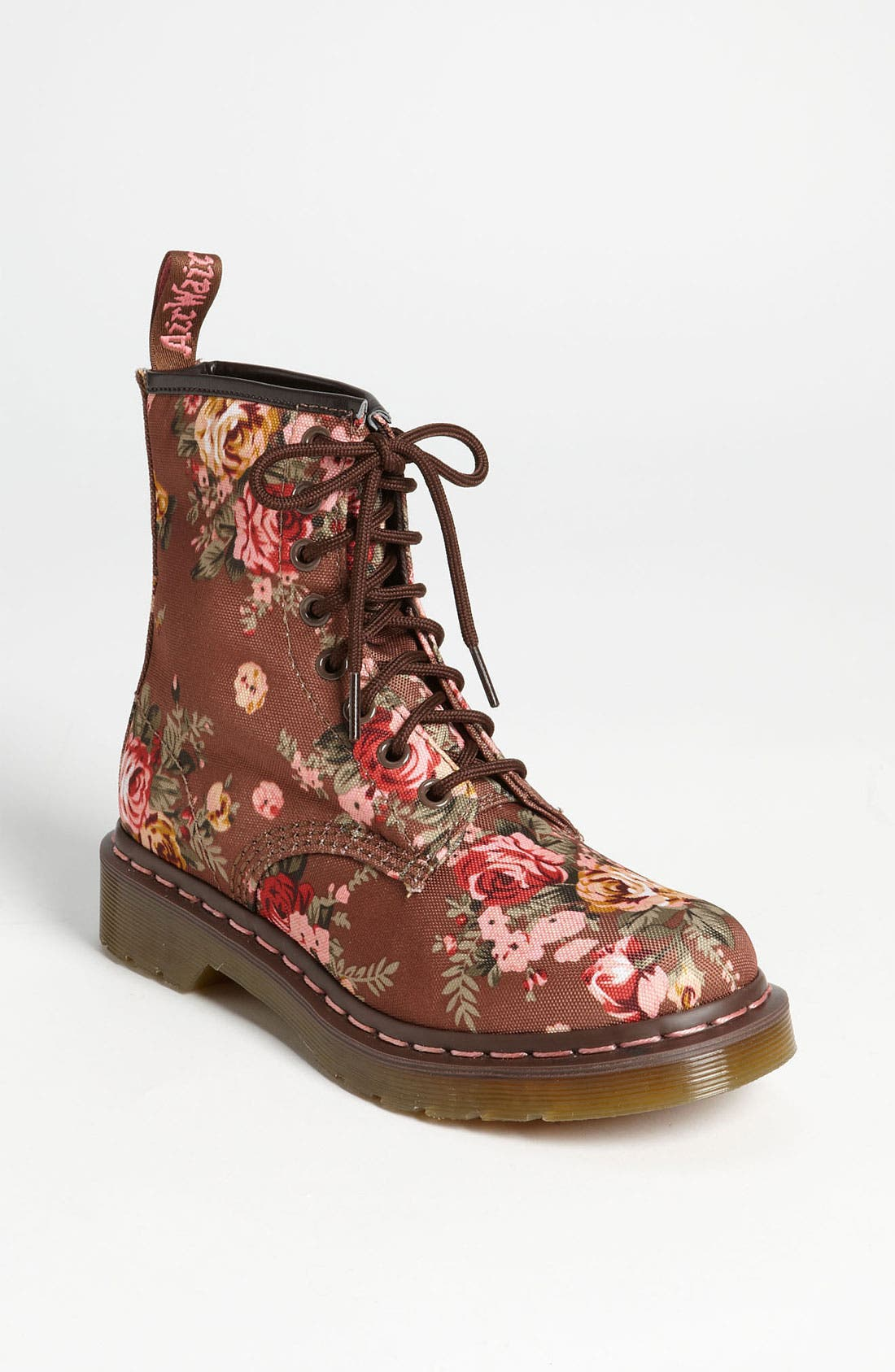 Main Image - Dr. Martens '8-Eye Victorian Flowers' Boot (Women)