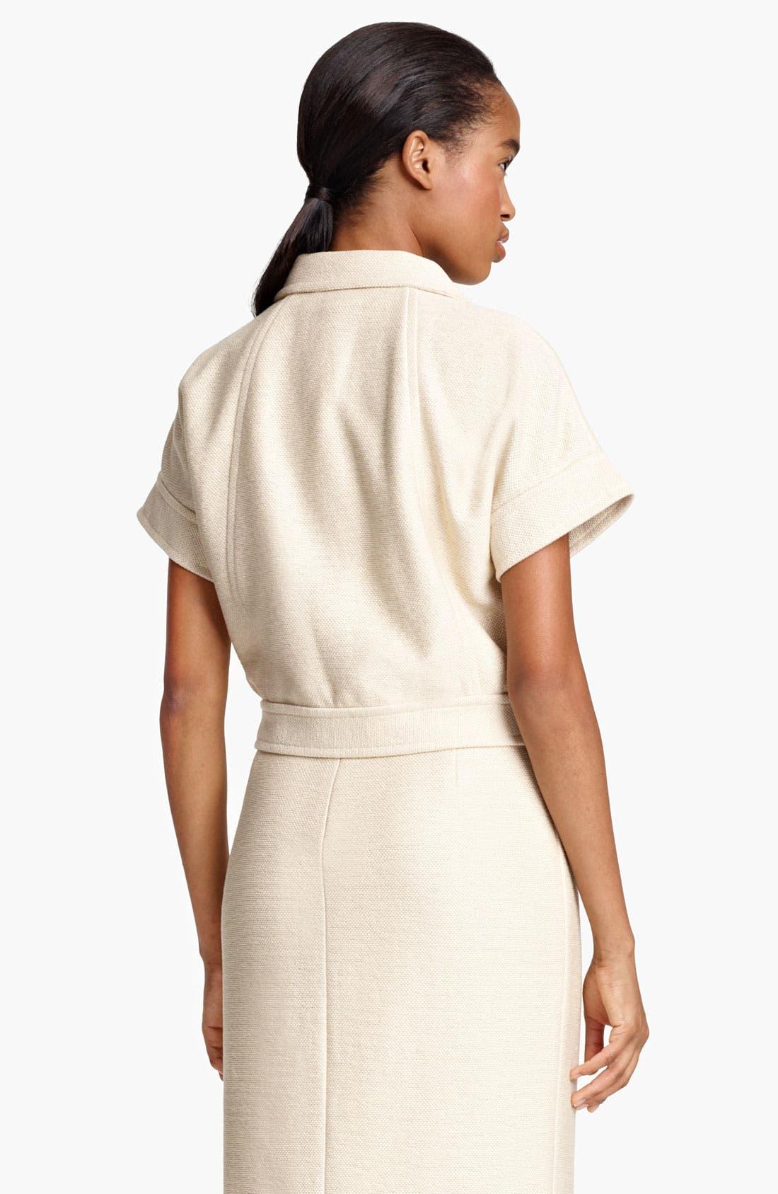 Alternate Image 3  - Lida Baday Jacquard Knit Crop Jacket