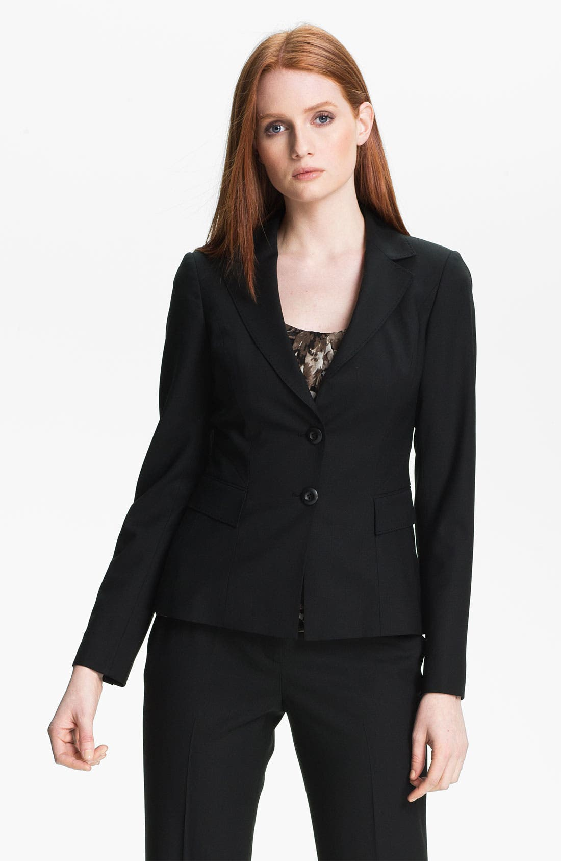 Alternate Image 1 Selected - Classiques Entier Stretch Wool Jacket
