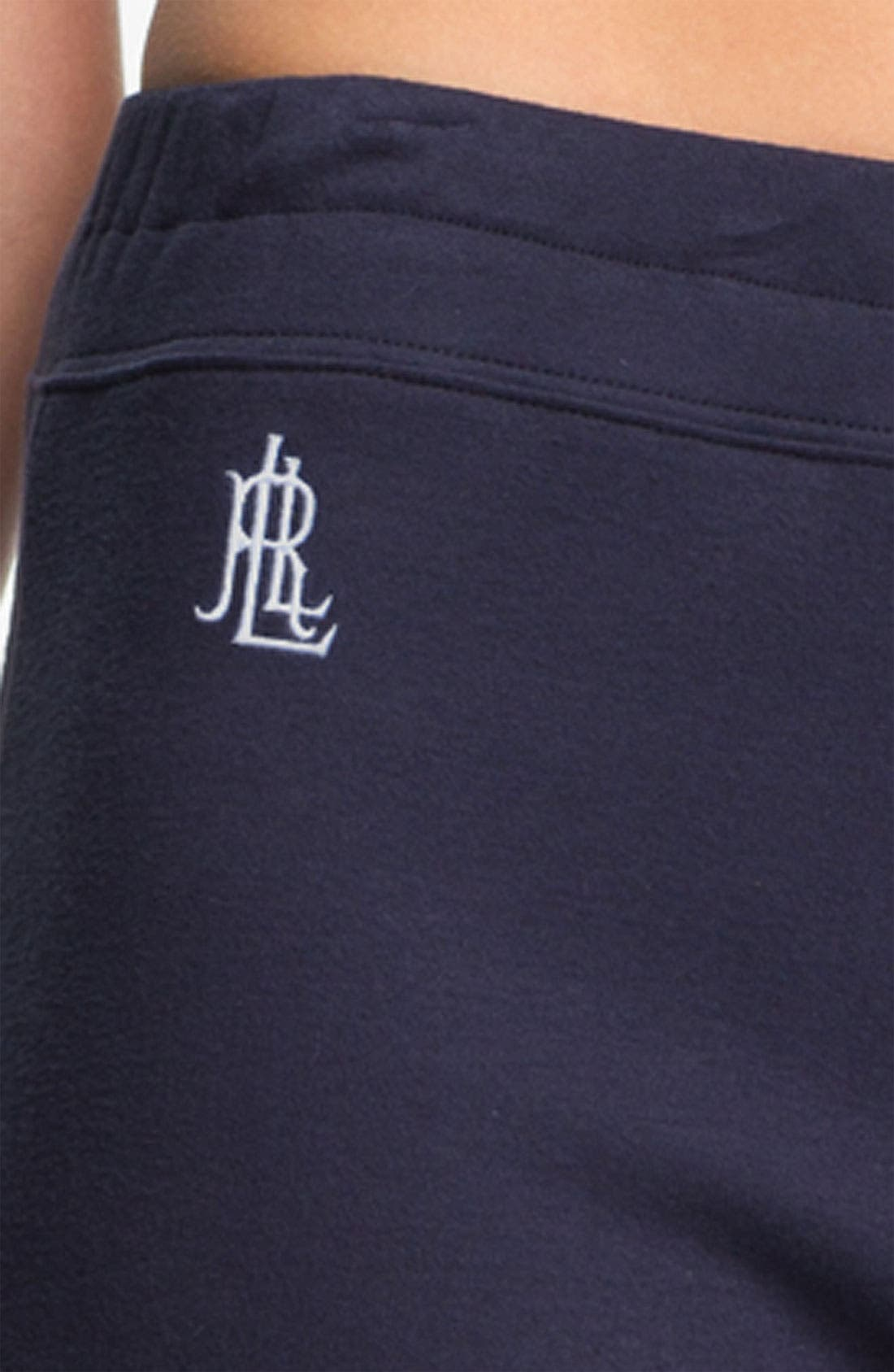 Alternate Image 3  - Lauren Ralph Lauren Sleepwear Lounge Pants