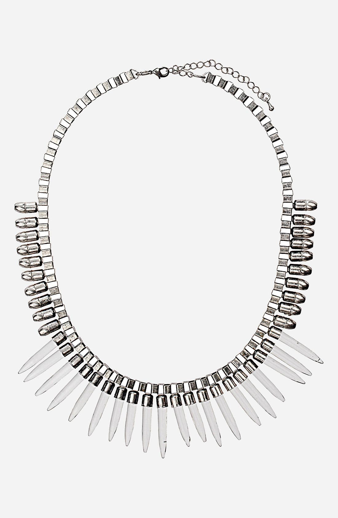 Alternate Image 1 Selected - Topshop 'Goth Spike' Necklace