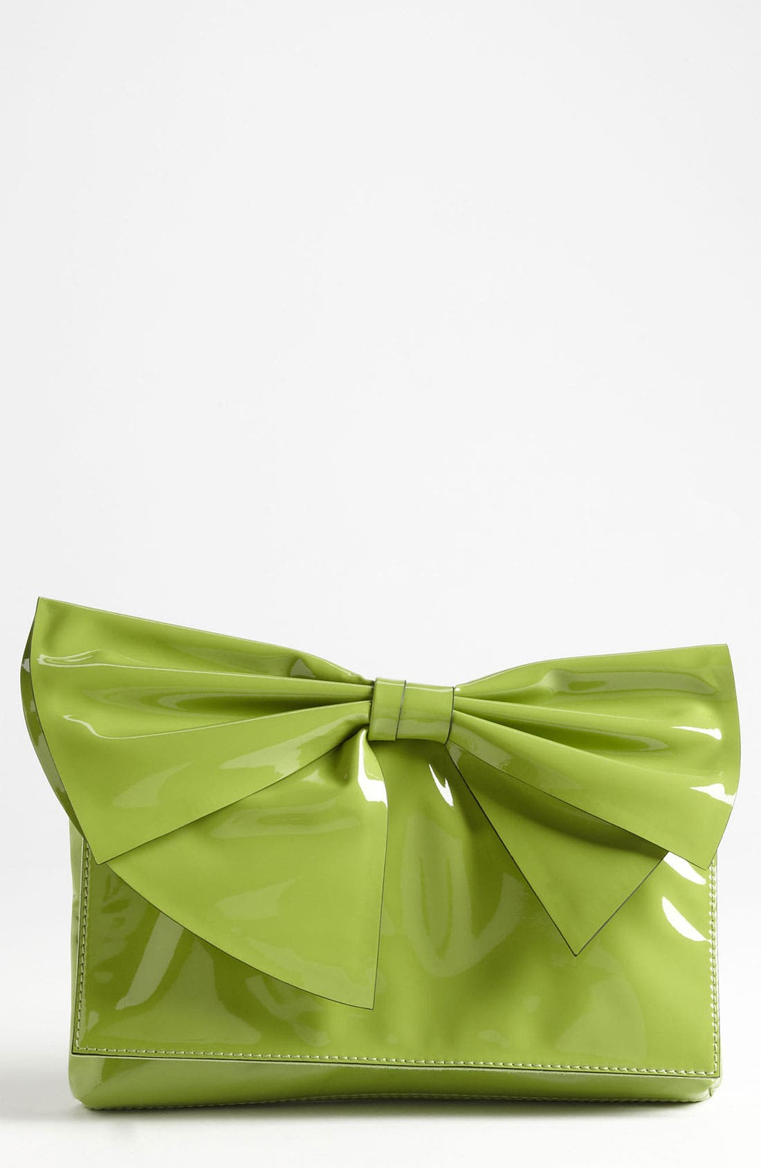 Main Image - Valentino 'Lacca Bow' Flap Clutch