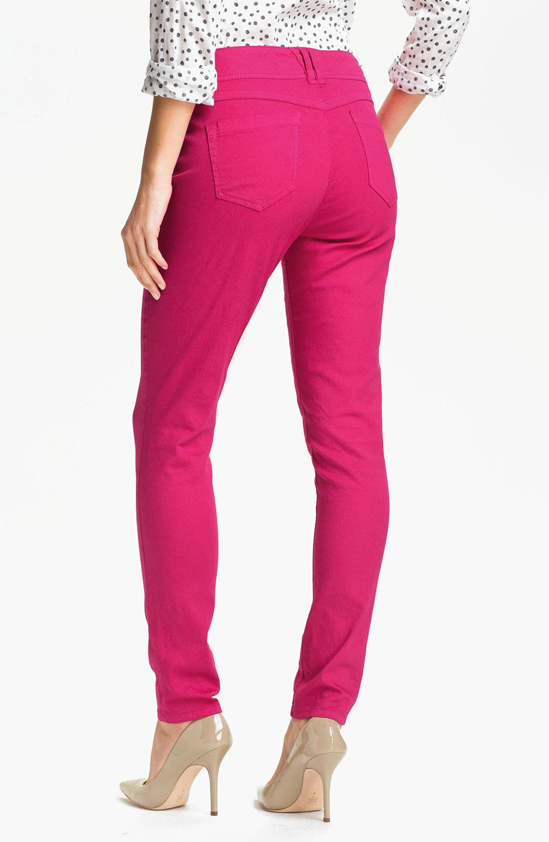 Alternate Image 2  - Wit & Wisdom Color Skinny Jeans (Nordstrom Exclusive)