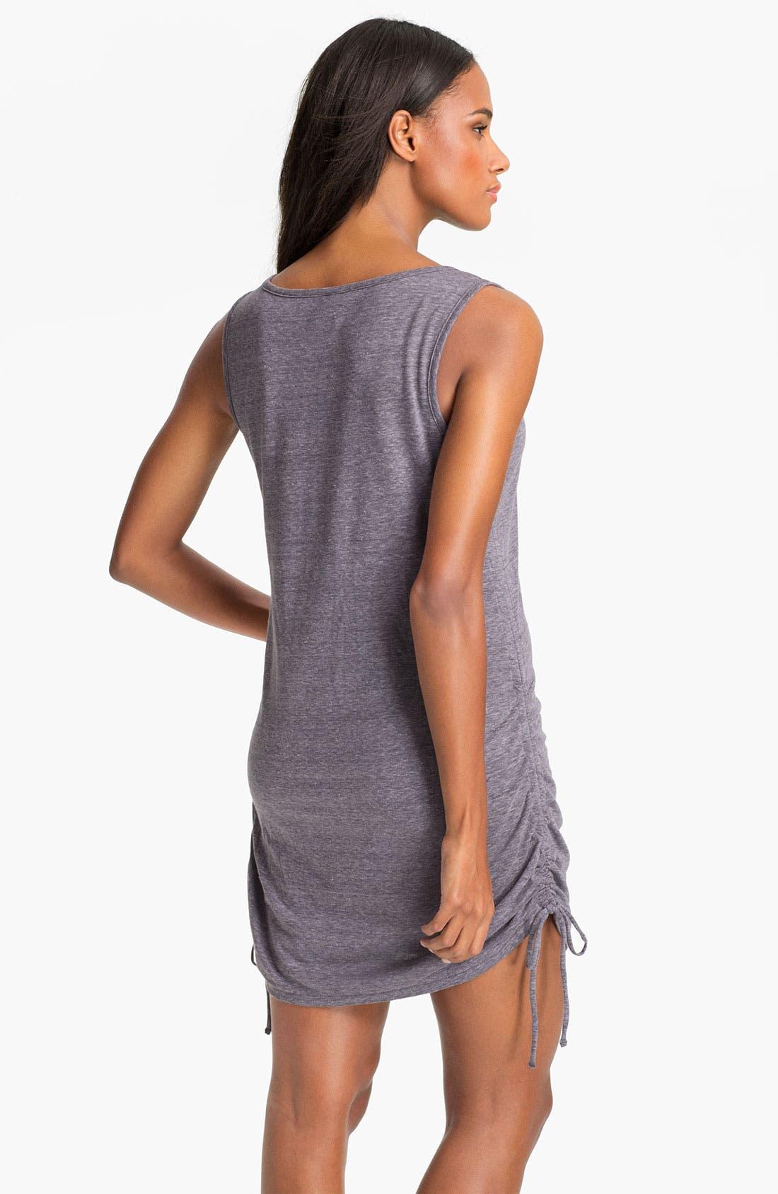 Alternate Image 2  - Eco Swim Shirred Side Cover-Up