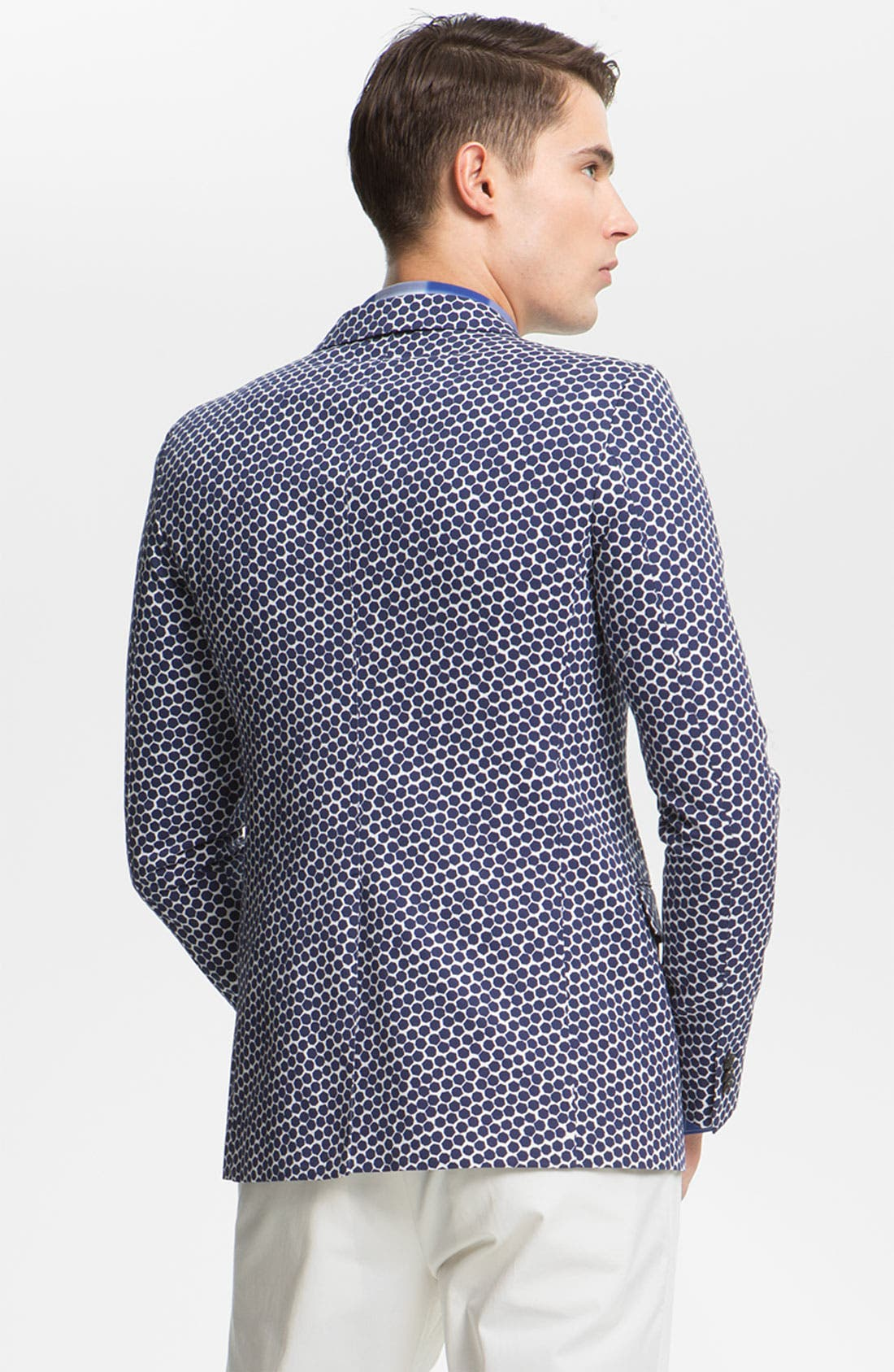 Alternate Image 2  - Jil Sander Hexagon Print Blazer