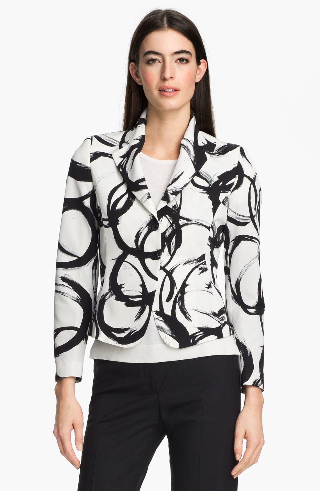 Alternate Image 1 Selected - Zanella 'Ricky' Print Jacket