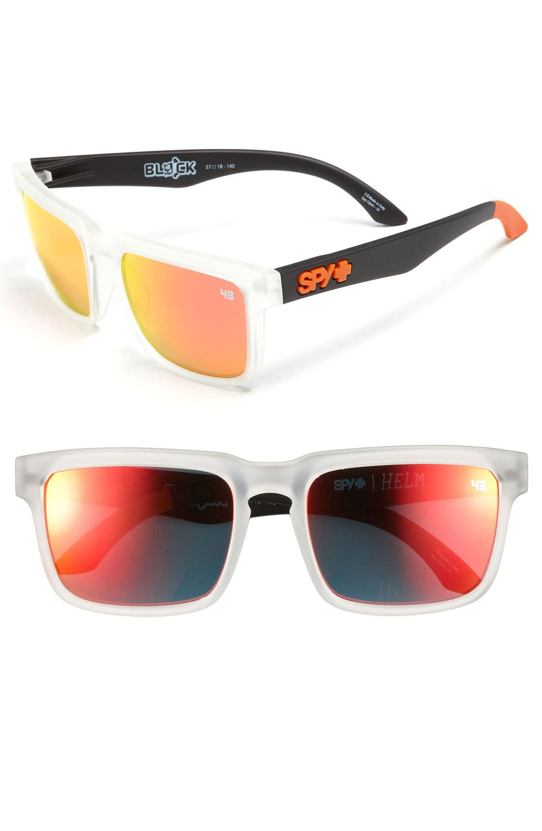 Alternate Image 1 Selected - SPY Optic 'Ken Block Signature Collection - Helm' 57mm Sunglasses