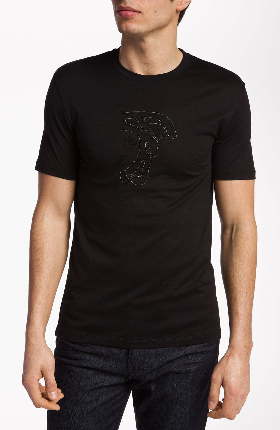 Main Image - Versace 'Large Logo' T-Shirt (Online Only)