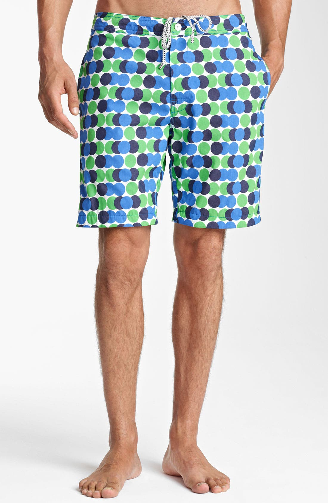 Main Image - Jack Spade 'Decker' Dot Board Shorts