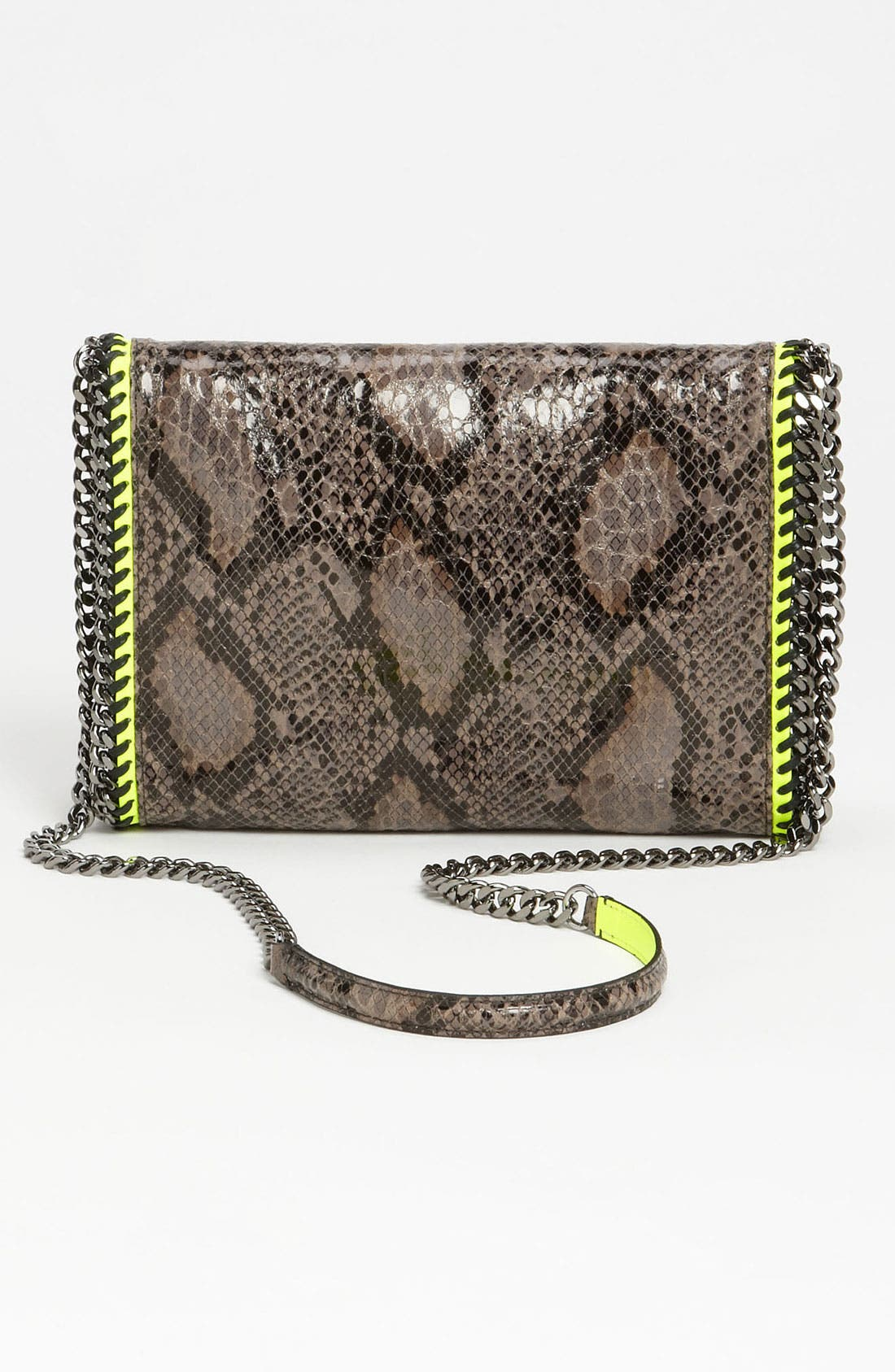 Alternate Image 4  - Stella McCartney 'Falabella' Faux Python Crossbody Bag
