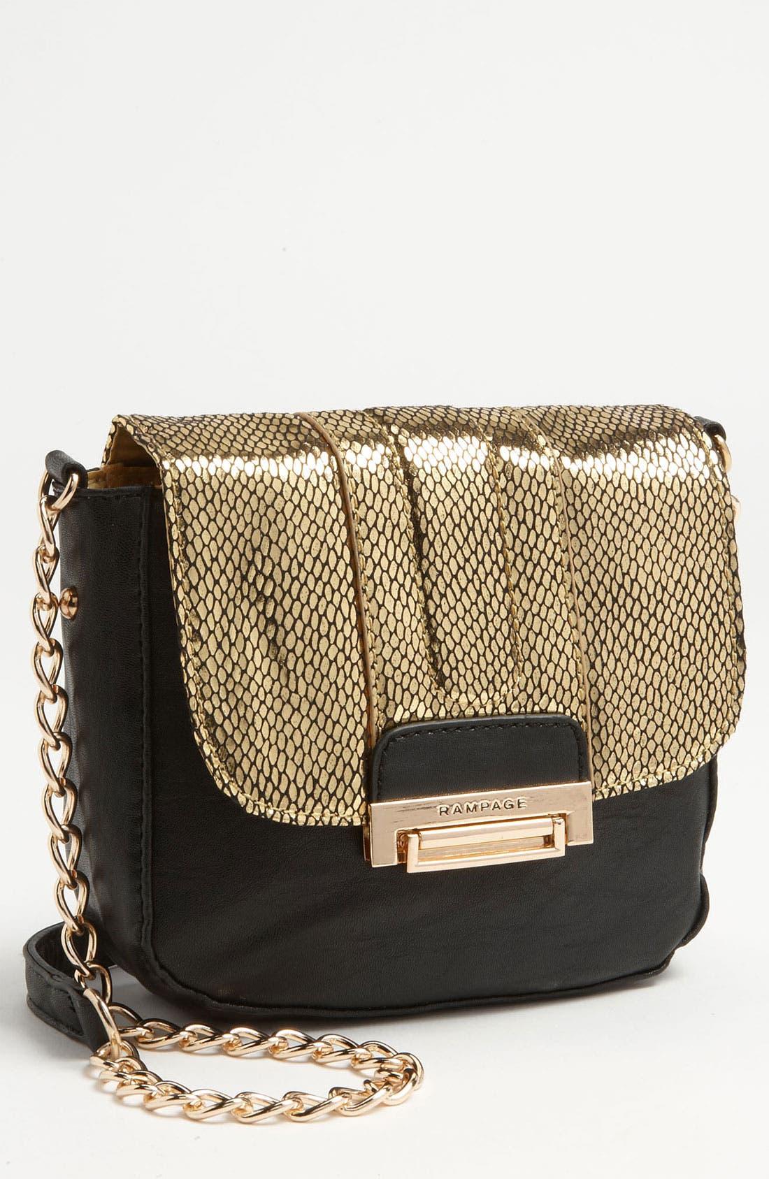Alternate Image 1 Selected - Rampage 'Lillian' Crossbody Bag