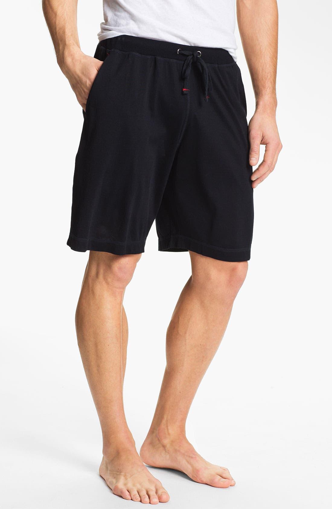 Alternate Image 1 Selected - Daniel Buchler Silk & Cotton Shorts