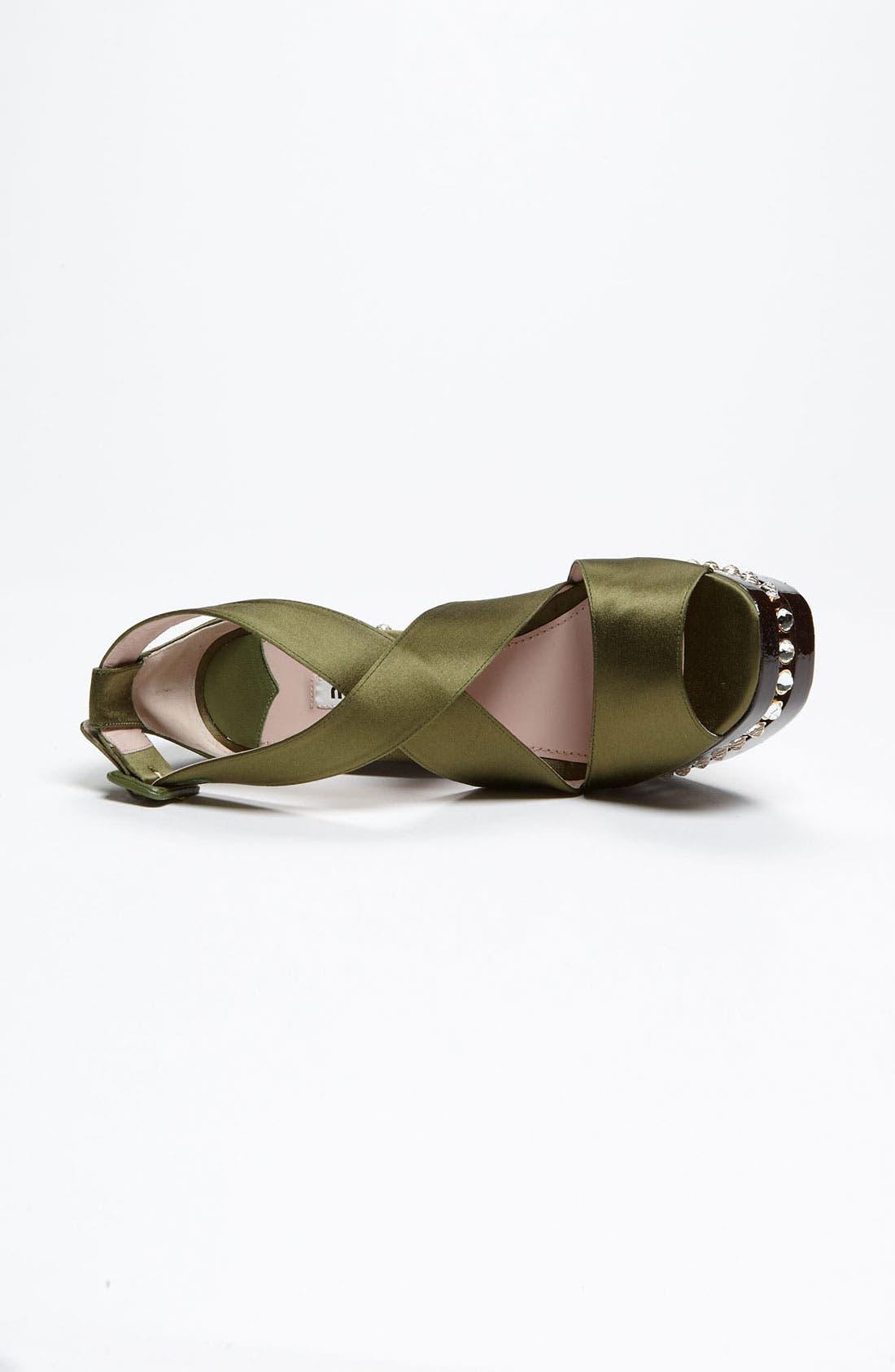 Alternate Image 3  - Miu Miu Crystal Clog Sandal